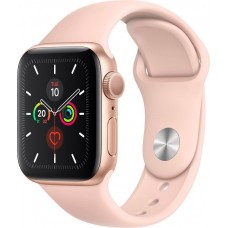 Apple Watch Series 5 40 mm, Gold Alluminium with Pink Sand Band OLED Cellulare GPS
